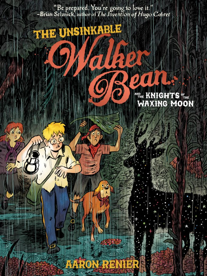 Today is the release day of The Unsinkable Walker Bean and the Knights of the Waxing Moon by @acornreindeer which I had the honor of coloring!!! Please support this book by buying a copy, or requesting it at your local library! us.macmillan.com/books/97815964…