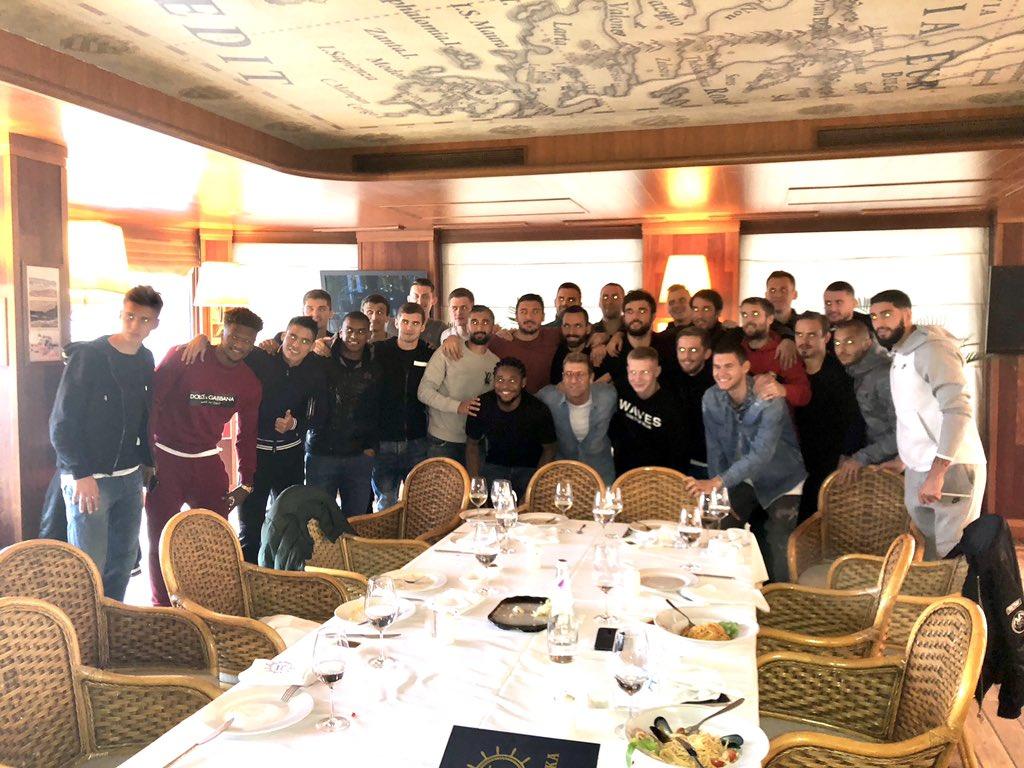 Каррера собрал игроков «Спартака» на прощальный обед