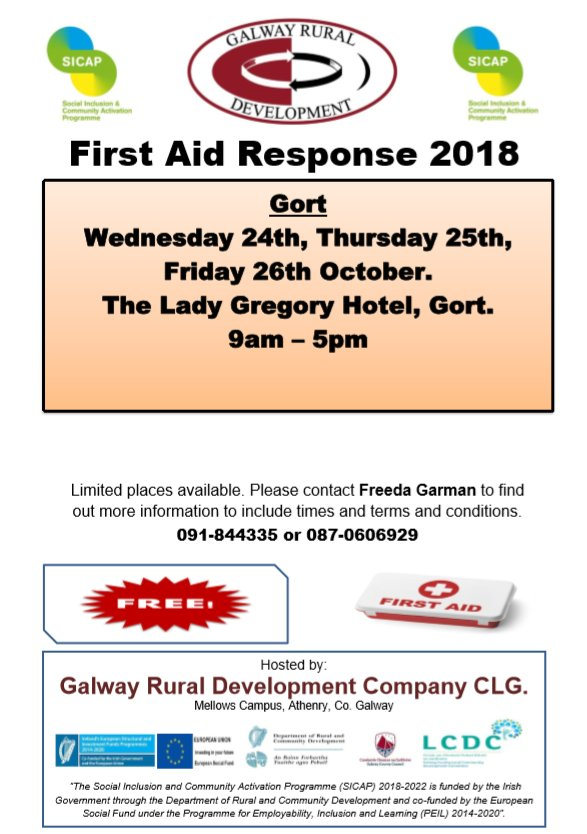 Galway Rural Development on Twitter: