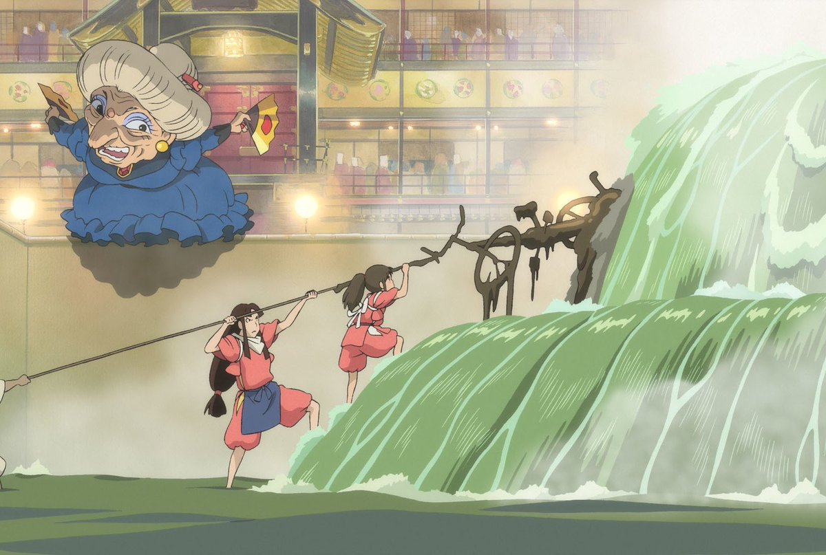Gkids Films On Twitter The River Spirit In Spirited Away Is Based On Hayao Miyazaki S Experience Cleaning A River In His Hometown Which Included Removing A Stuck Bicycle Watch Spirited Away