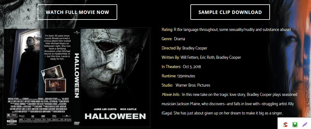 halloween 5 full movie stream