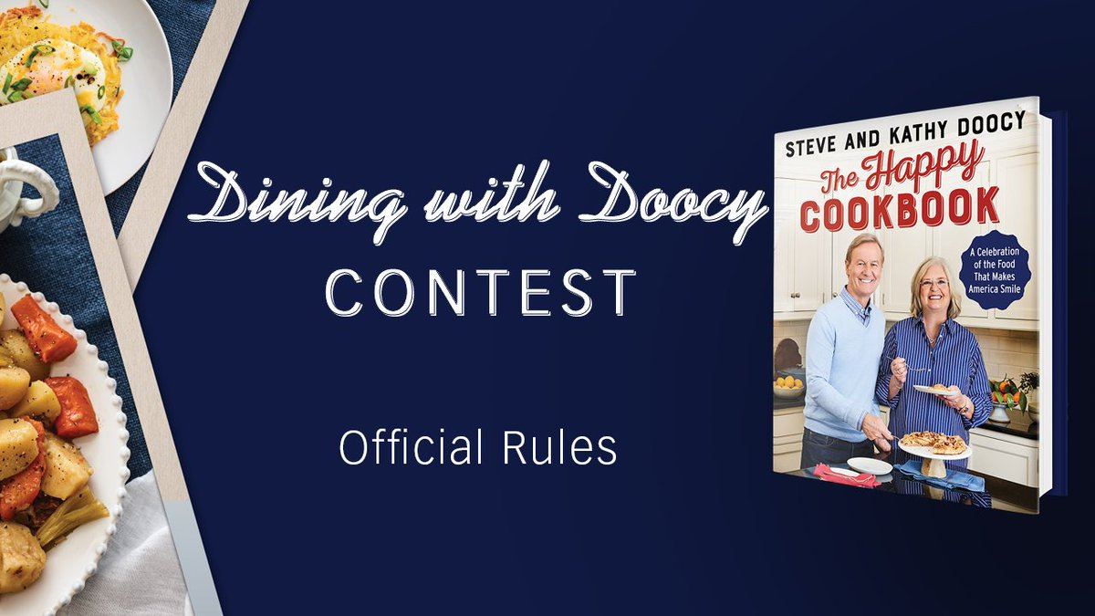 "Enter the ""Dining with Doocy"" Sweepstakes! Grand prize winner will win a hometown visit from @SteveDoocy. The runner-up will win a trip to New York City. Email diningwithdoocy@foxnews.com -- More info here: https://fxn.ws/2CV5msp"