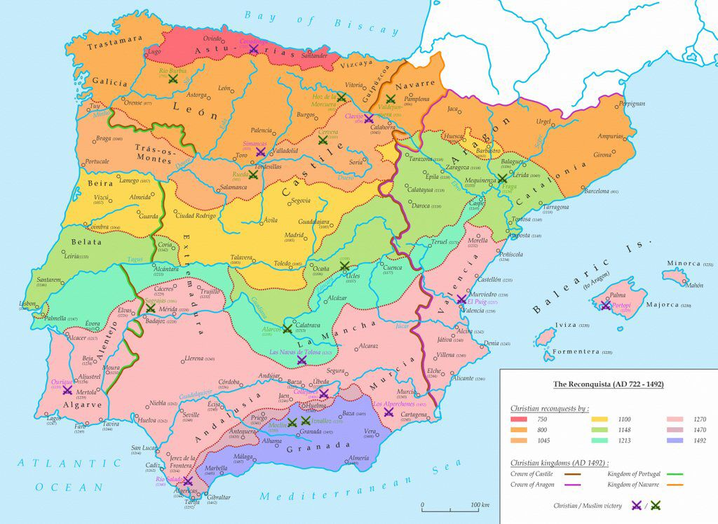 Map Of Spain 1492.Simon Kuestenmacher On Twitter Really Cool History Map Shows The