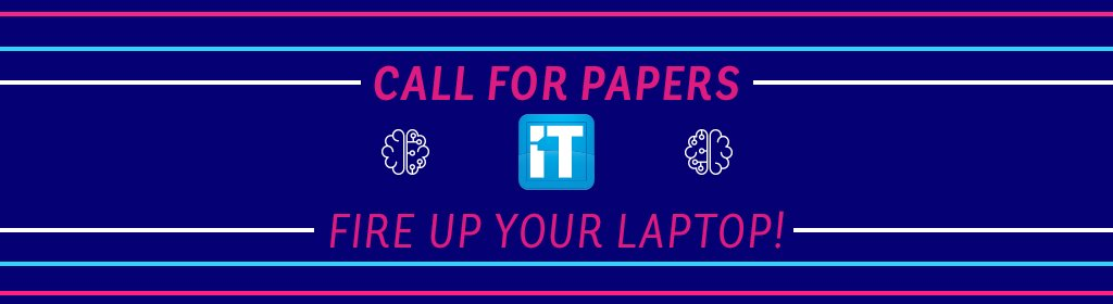 Send us your best paper 📃 about #AI ⚙️🧠– Top 3 articles will be rewarded during the #ITOneGala2018 and published in the annual #ITOne Magazine –Deadline for submissions : Nov. 23rd 📧 team@itone.lu