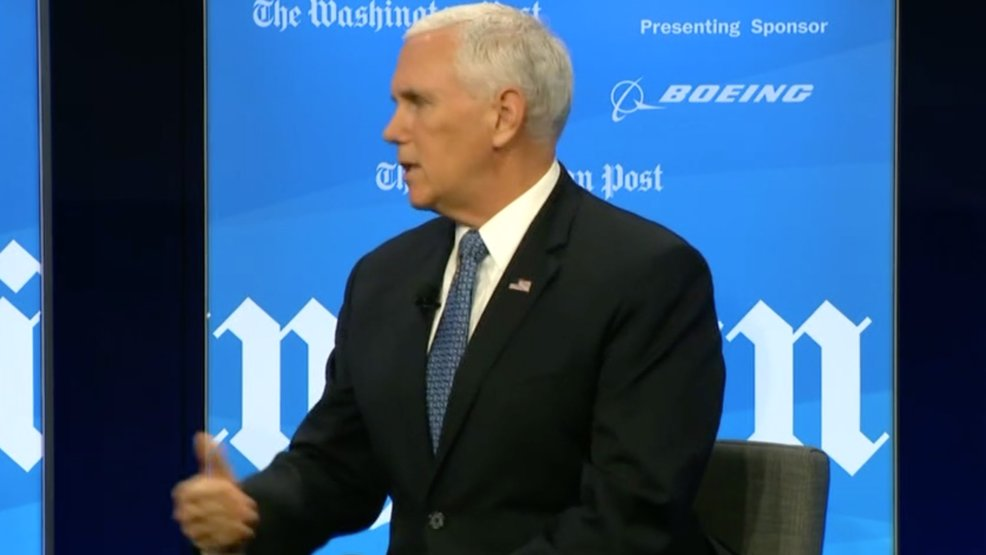 Live: Vice President Pence lays out his vision for the proposed Space Force https://t.co/waVfF5GVF1