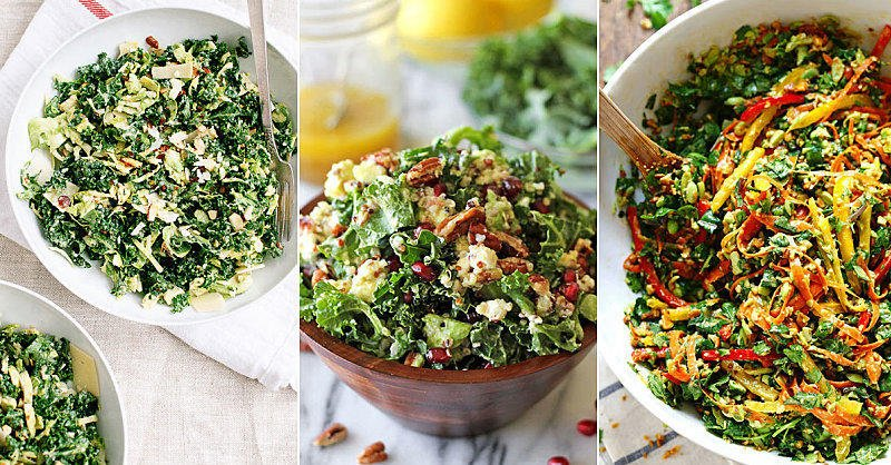 Kale Salad Like You've Never Seen It https://t.co/gcxhjL5LEm 🥗 #kale  #kalerecipes #healthyrecipes https://t.co/hpEkVdHMqq