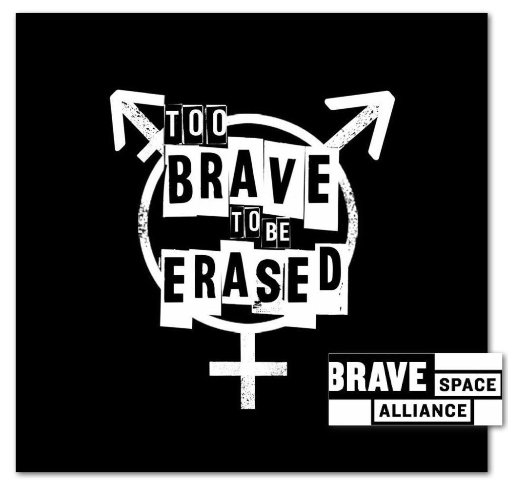 Become a monthly sponsor, support trans people and the work we do locally and national work: bravespacealliance.org/donate/