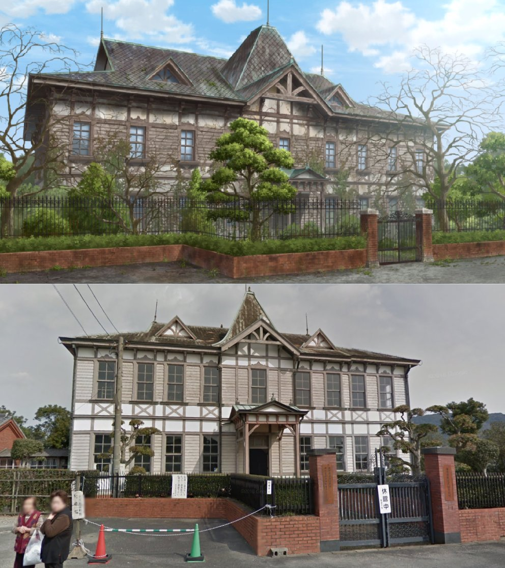 "Wilhelm Donko on Twitter: ""Promoting Saga Prefecture with the help of undead idols is ingenious. Check out the real places featured in ZOMBIE LAND SAGA so far! ✨More comparisons: https://t.co/c1TtVaDLjD… https://t.co/7EXViE42aM"""