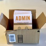 """Just received the first copies of my next book """"ADMIN - Systematize Your Real Estate Administrative Process"""" in a delivery!"""