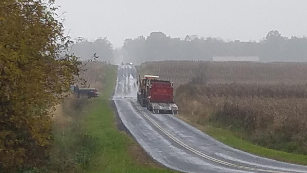Road closed in Tyre after reported incident at local farm