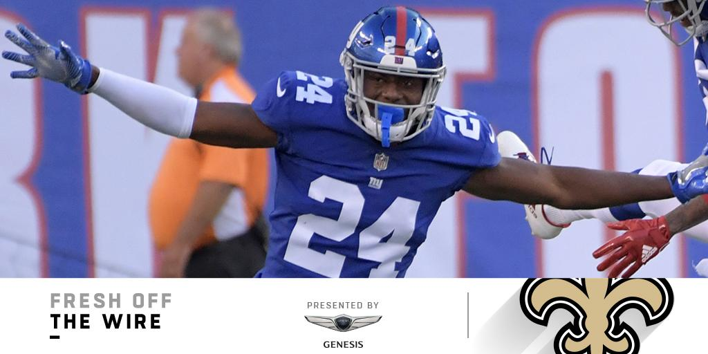 �� TRADE ALERT! ��  The @Giants are trading CB Eli Apple to the @Saints: https://t.co/tY0OfXCYia (by @GenesisUSA) https://t.co/XP0gYOVhAm