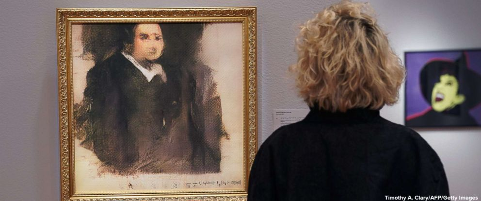 Christie's auctions first piece of art created by artificial intelligence. https://t.co/tQPO3YLBP5
