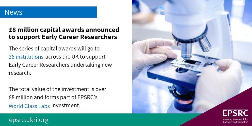 Epsrc On Twitter Epsrc Announces New 8 Million Capital Investment