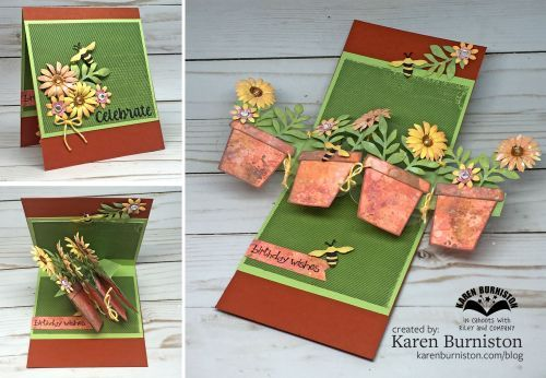 Elizabeth Craft Pop Up Flower Pot Flowers Healthy
