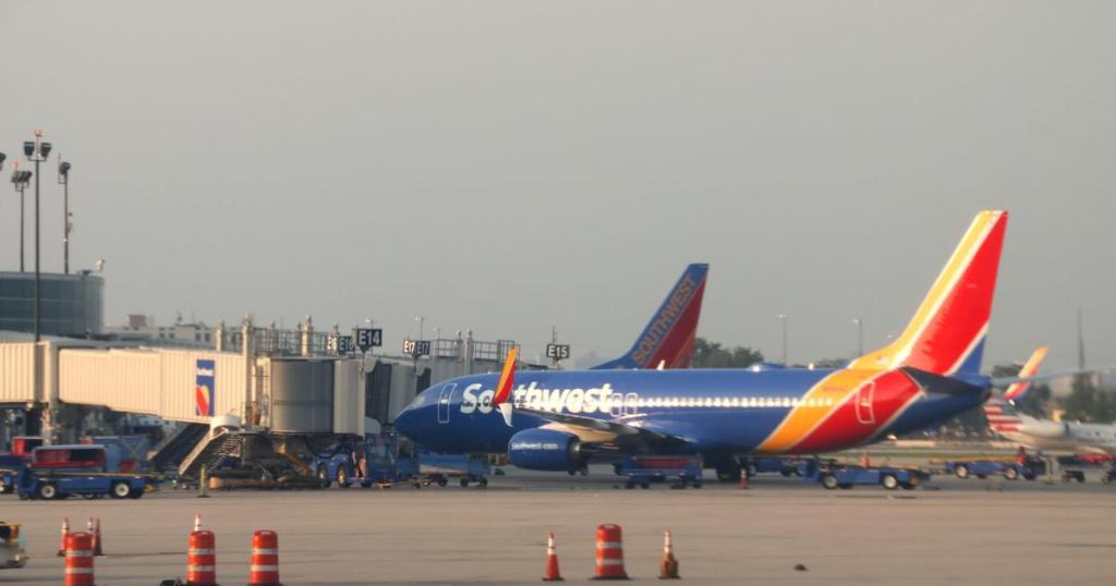 Man accused of groping woman during Southwest Airlines flight invokes Trump in defense: 'the President of the United States says it's OK to grab women by their private parts' https://t.co/ZvaMjNJlPz