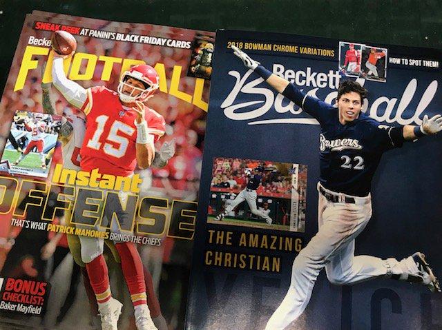 Omaha Sports Cards On Twitter Beckett Baseball Football