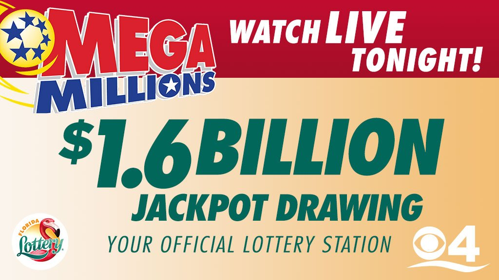 Historic $1.6 billion #MegaMillions drawing is set for TONIGHT! Your odds of winning? About 1 in 302.5 million. Find out if you beat the odds & watch the numbers being drawn live right before  New#CBS4s at 11.   https://t.co/DDXjgHZ4F2@floridalottery
