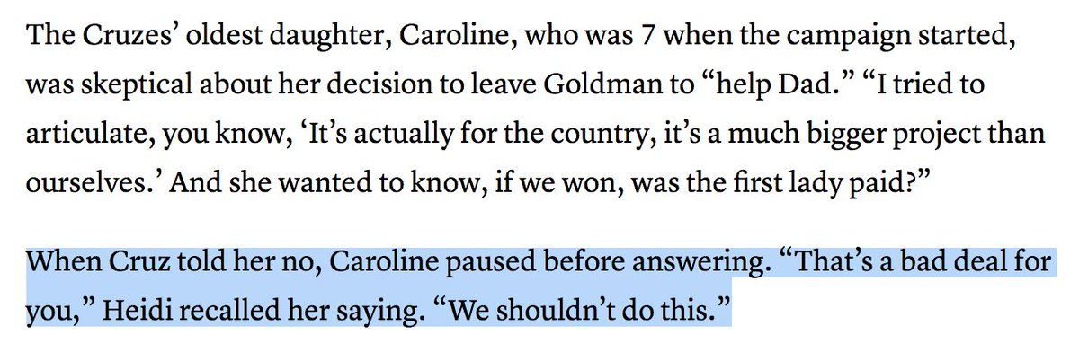 diana obrien on twitter this quote from 7 year old caroline cruz ted cruzs daughter is everything from a new theatlantic profile on heidi cruz