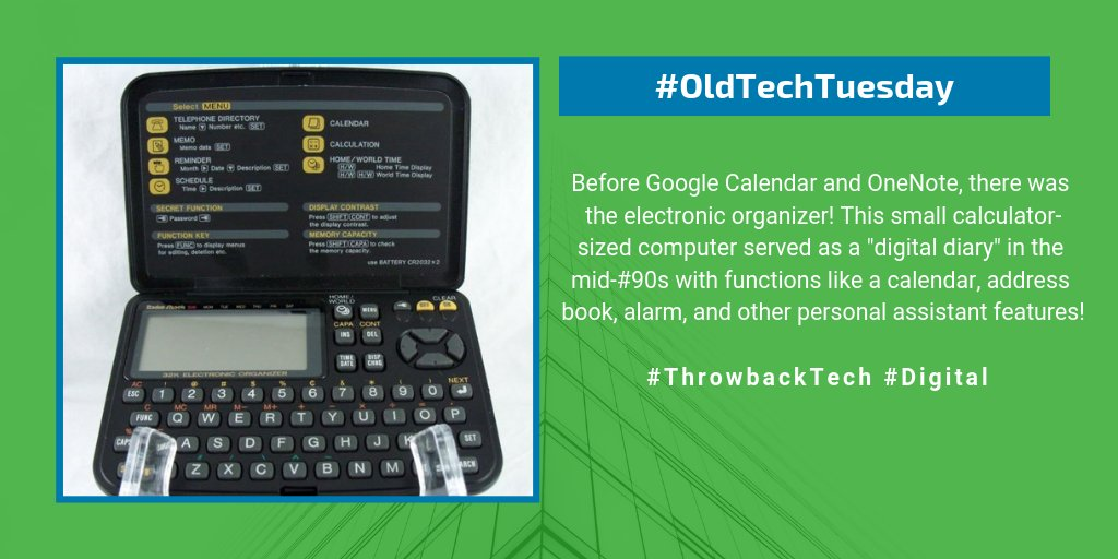 oldtechtuesday hashtag on Twitter