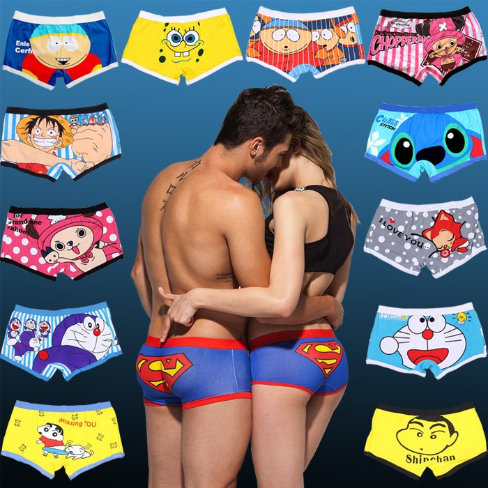 2f64f2c01 ... Sexy Mens Cotton Boxers Couple Panties Women Panties Underwear Shop  now  ...