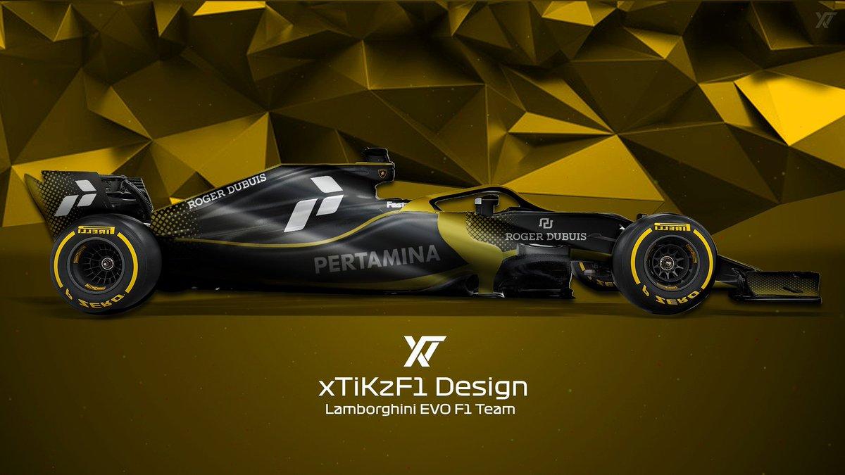 Lamborghini Evo F1 Team Concept Lamborghini By Xtikzf1 Tweet Added