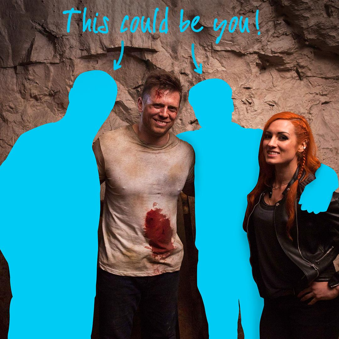 Want to score a Survivor Series weekend in LA and come hang out with The Marine 6: Close Quarters WWE Superstars @BeckyLynchWWE and @mikethemiz backstage at SmackDown Live on 11/20?  Support Hire Heroes USA and enter: https://t.co/bUUBigNsc6