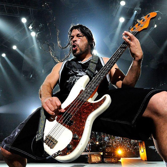 Happy Birthday to the most badass bass player, Robert Trujillo!