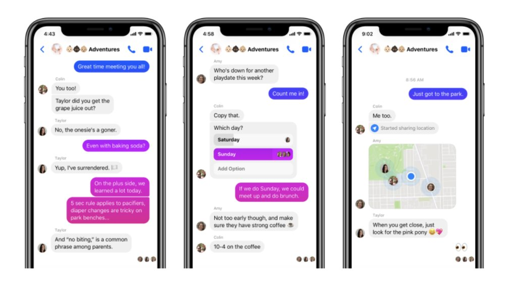 Facebook rolling out new Messenger 4 app update with simplified navigation, dark mode, customizable chat bubbles, more https://t.co/riofSv2Coc by @iPeterCao