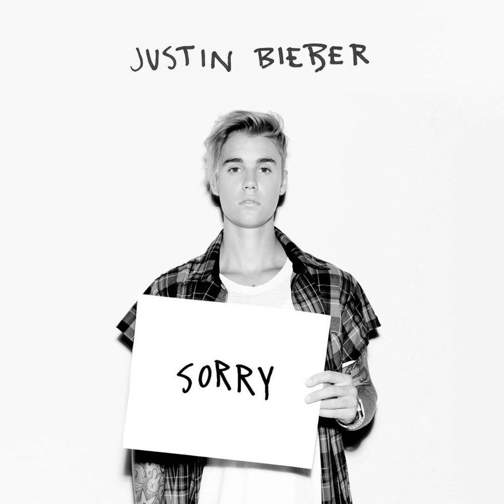 "3 years ago today, @JustinBieber released the hit single that solidified his comeback to pop dominance, ""Sorry."" It served as the 2nd single from his 4th studio album, #Purpose. It reached #1 on Hot 100, went 8x Platinum in the US and accumulated over 15M units/sales worldwide."