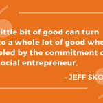 Image for the Tweet beginning: Social entrepreneurs can be the