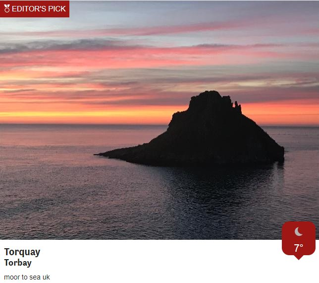 Shepherd's warning? Lovely shots taken by our Weather Watchers this morning. Many thanks for sharing! Jo