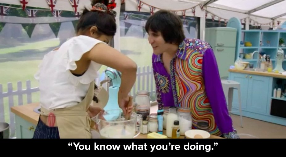 Me literally all my life #GBBO