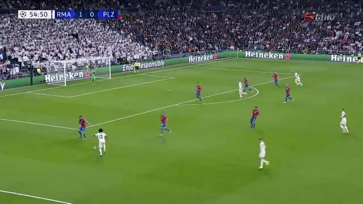 Marcelo for Madrid 🔥  Bale's brilliant assist is finished elegantly by Marcelo and puts Madrid 2-0 up.  Watch LIVE >   https://t.co/3wUsZ183KY#UCL