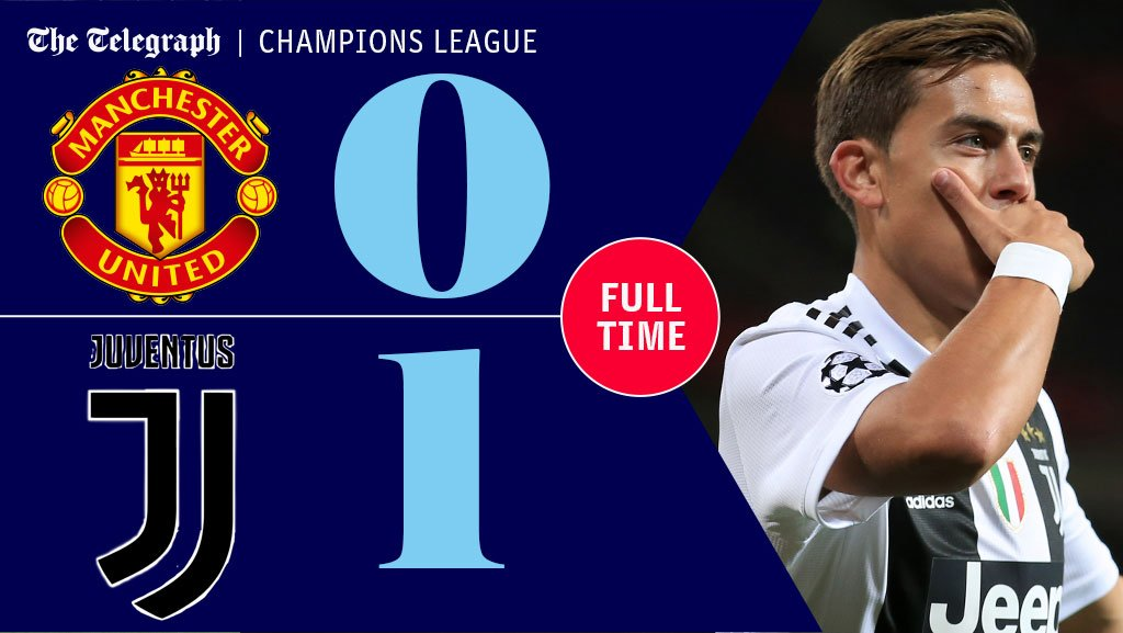 FT: Man Utd 0 Juventus 1   Juventus the first Italian side to win at Old Trafford since 2005 and the home team can have few complaints https://t.co/s36ScHh1n0