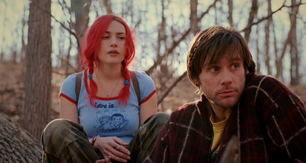 'Eternal Sunshine of the Spotless Mind.'  Makes me feel in love with life and art and everyone and everything. <3
