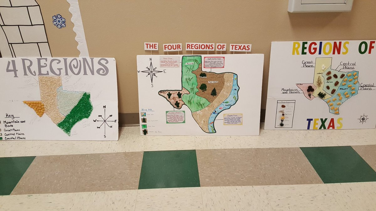 Regions Of Texas Map 4th Grade.Letty Hernandez On Twitter Awesome Job Dre Hurricanes 4th Grade