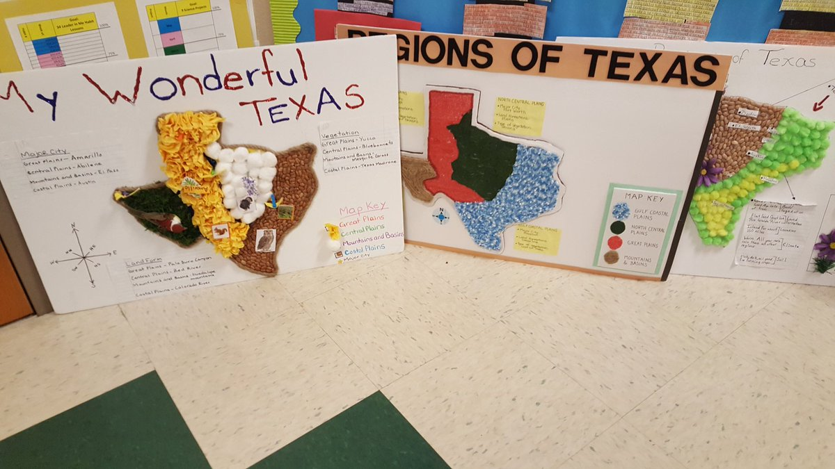 Regions Of Texas Map 4th Grade.Letty Hernandez On Twitter Awesome Job Dre Hurricanes 4th