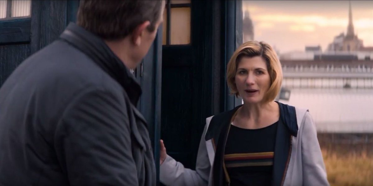 This Doctor Who sneak preview sees The Doctor saying goodbye to her friends:   https://t.co/mjW1TgBJf3