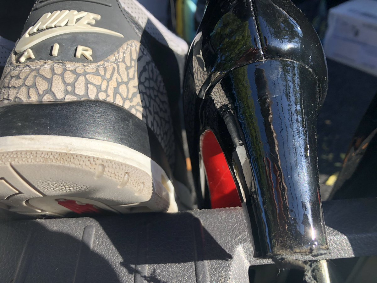 wholesale dealer 07012 5ff78 I rescued my Jordans but these secondhand Louboutins did not emerge  unscathed. However I didn t see anymore chewed panties. Okay back to the  hotel where I ...