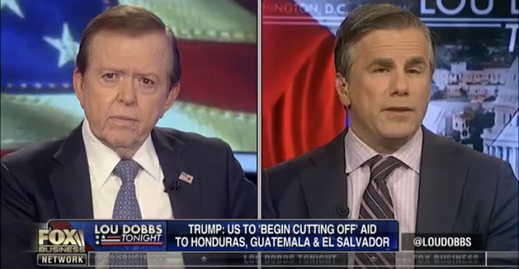 """JW President @TomFitton was w/ @LouDobbs on @FoxBusiness discussing the migrant caravan heading north from Central America towards the U.S.: """"It's a national security threat. This is why President @realDonaldTrump needs to act to protect the country.""""  👉 https://t.co/JCxZOy7540"""
