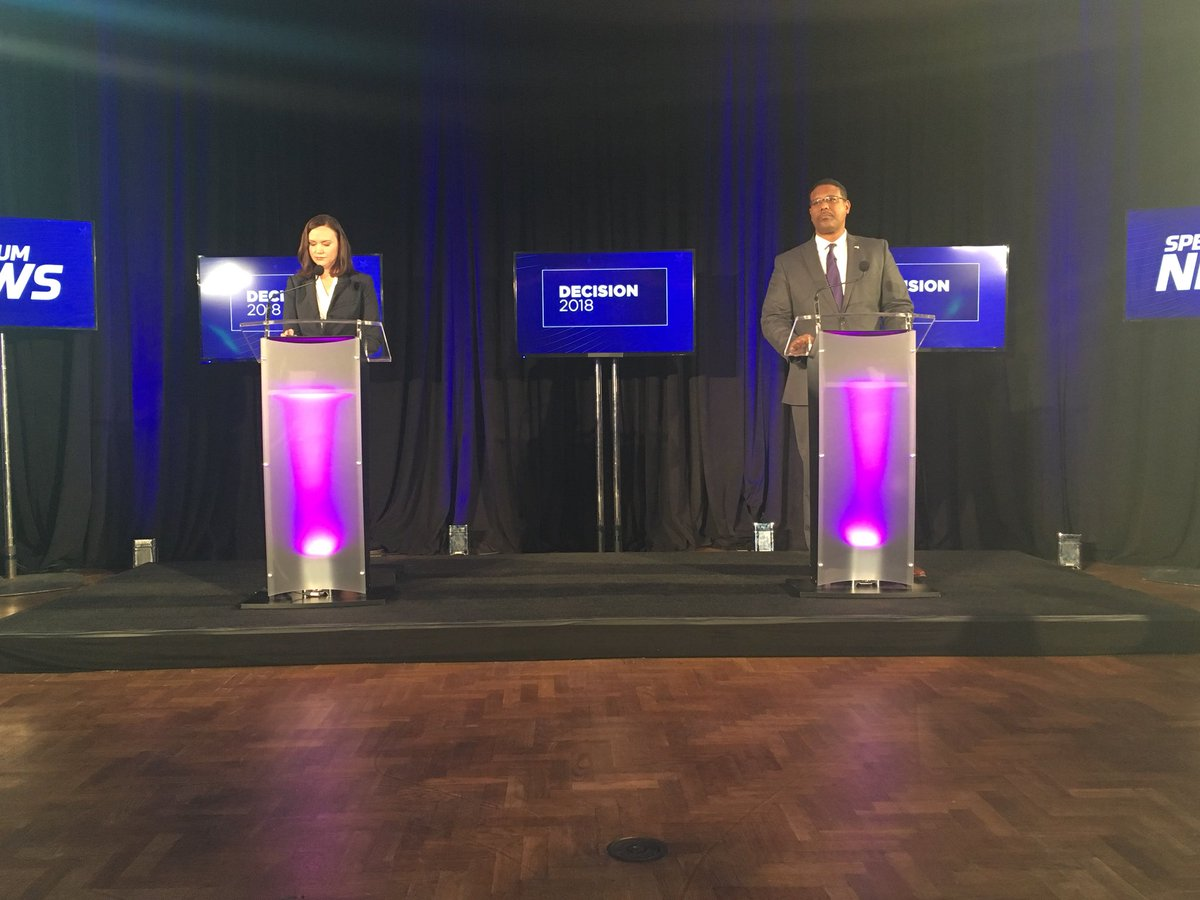 Countdown to the #Florida Attorney General debate between @voteashleymoody and @SShawFL