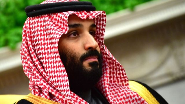 Saudi crown prince gets standing ovation at global conference following Khashoggi's death https://t.co/LE43KWfYsy https://t.co/FYCHuftITw