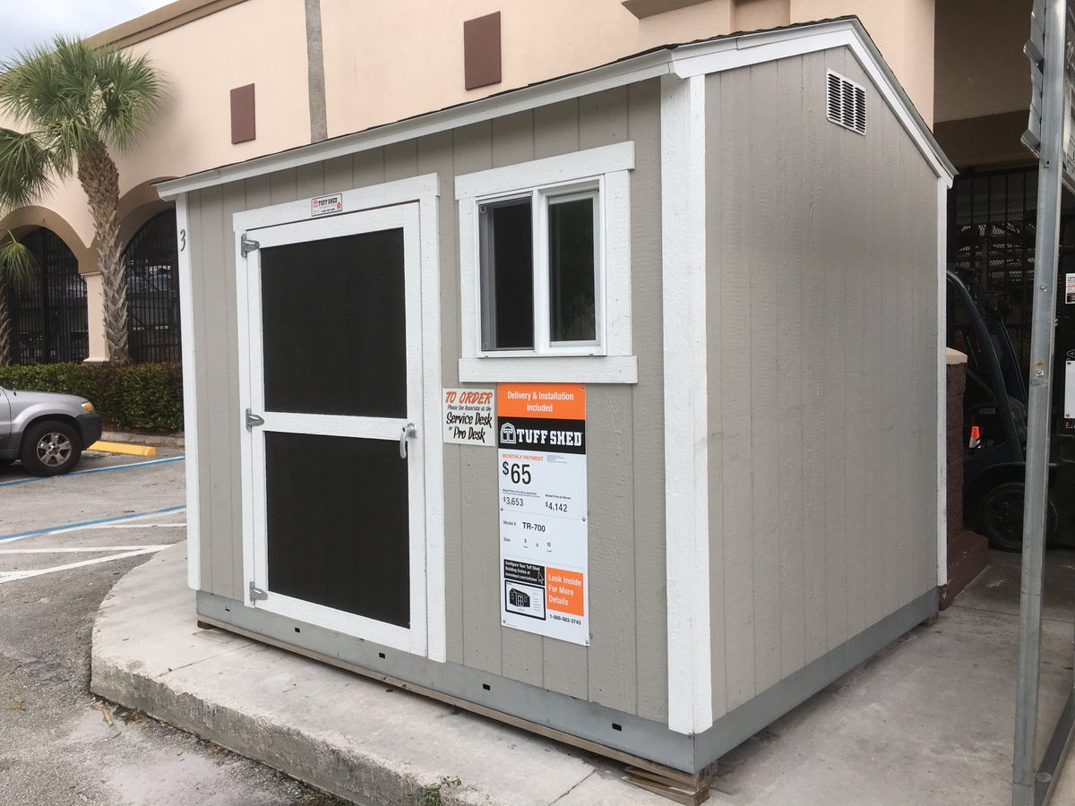 TUFF SHED @ THD SOUTH FLORIDA ☀ on Twitter: