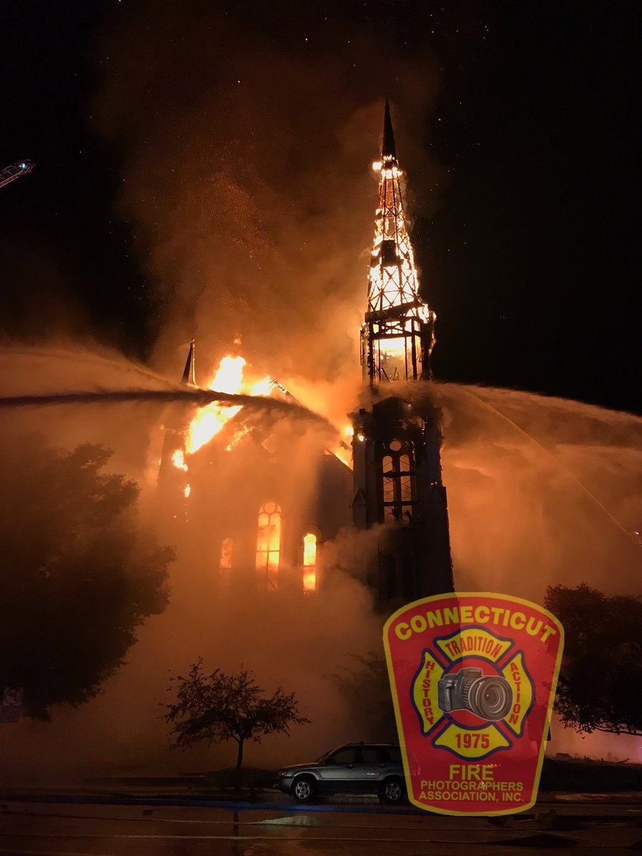 Ct Fire P O On Twitter Happening Now Cfpa Kevin White Kdwfirep Os Is Also On Scene Of A Fifth Alarm Church Fire Im Wakefield Ma