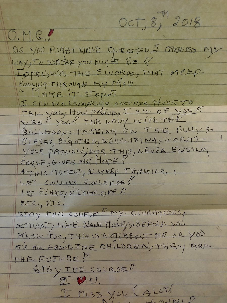 Just received this letter from my 95 year old Grandmother.