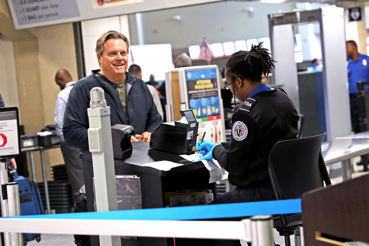 """dfw airport on twitter: """"the newly expanded @tsa security checkpoint"""