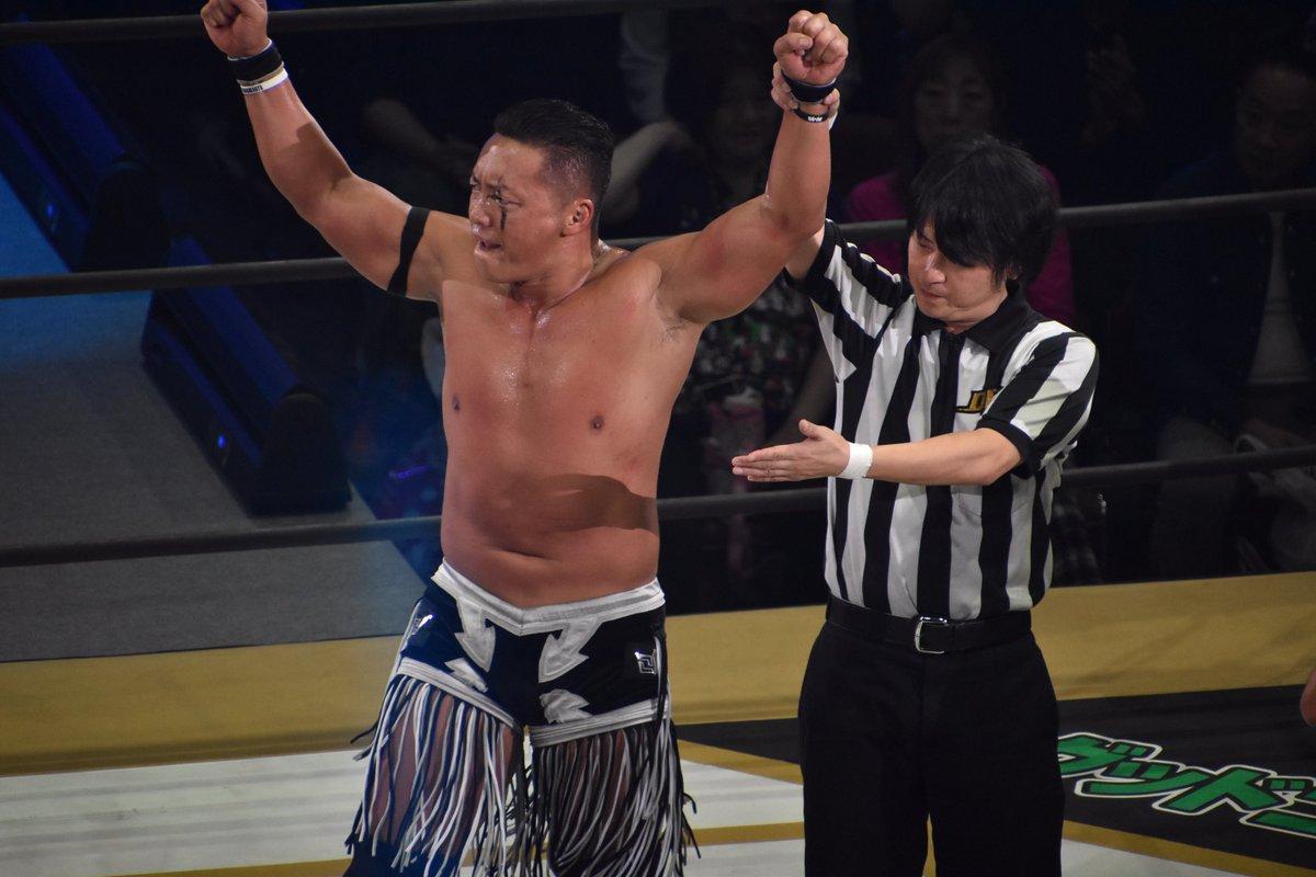 "DDT:""Ryogoku Peter Pan 2018"" La consagración de Daisuke Sasaki 10"