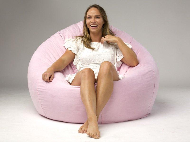 Admirable Suedebeanbag Hashtag On Twitter Machost Co Dining Chair Design Ideas Machostcouk
