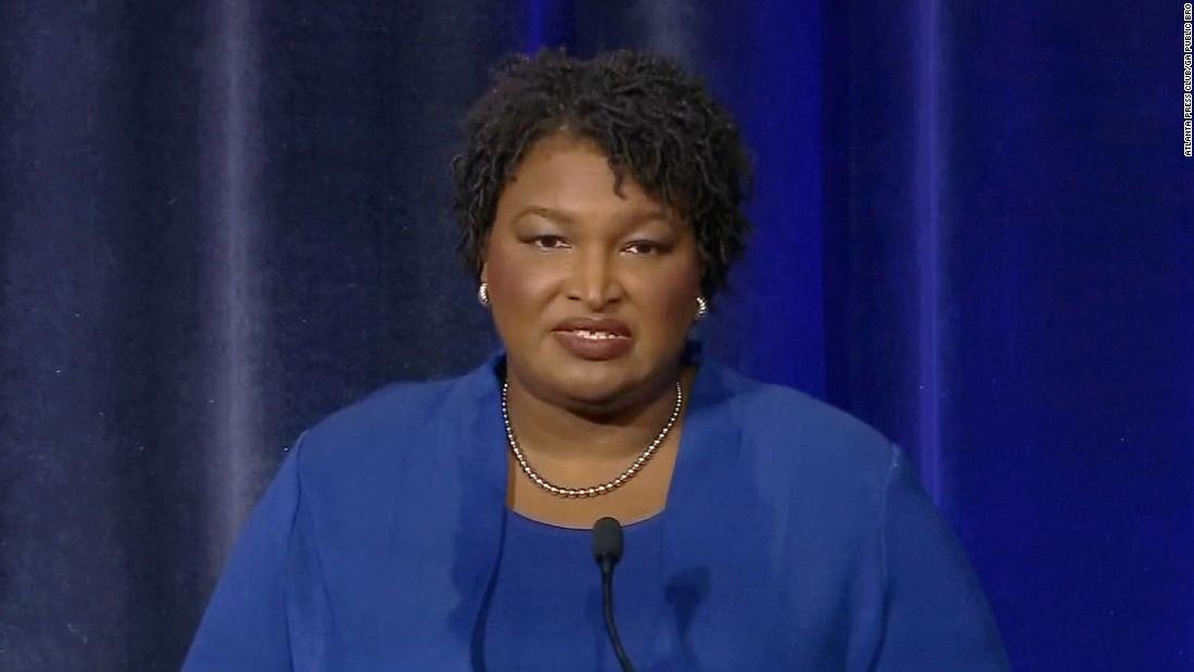Stacey Abrams defended her presence at a 1992 burning of a Georgia state flag, which contained the Confederate battle flag design, saying at a gubernatorial debate, 'I'm a very proud Georgian' https://t.co/2EMiILOqnE