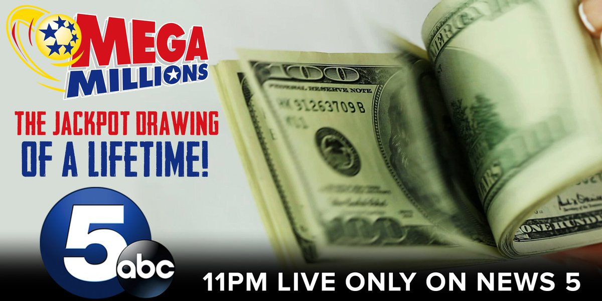 Are you holding the winning golden ticket?  The life-changing billion dollar Mega Millions jackpot drawing is minutes away ONLY on News 5! @WEWS